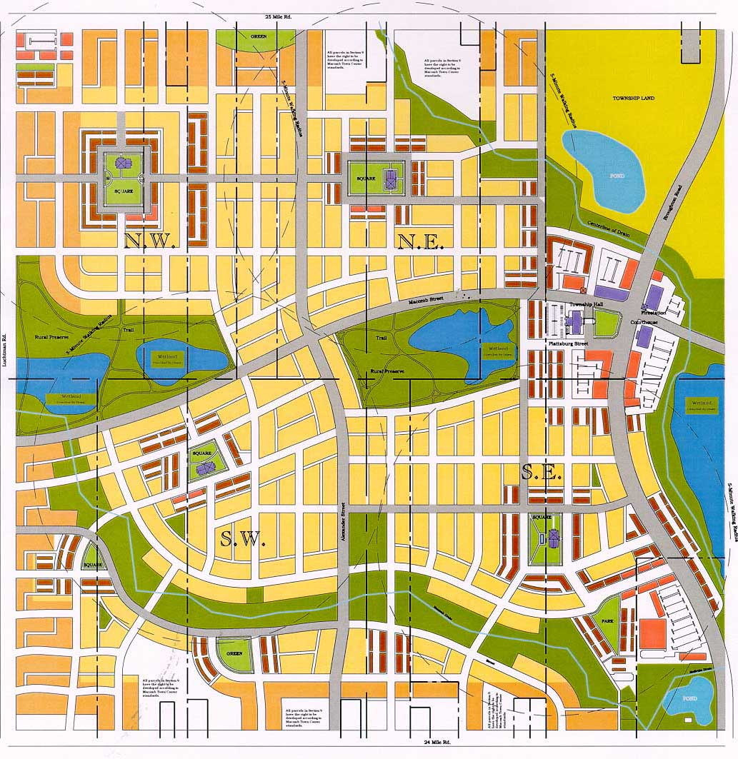Town Center Full Map